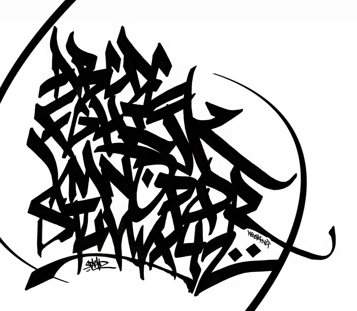 1000 images about urban calligraphy on pinterest graffiti graffiti alphabet and graffiti - Alphabet graffity ...